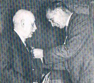 Ehrenvorsitzender Heinrich Becker