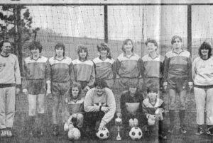 Mädchenmannschaft 1986